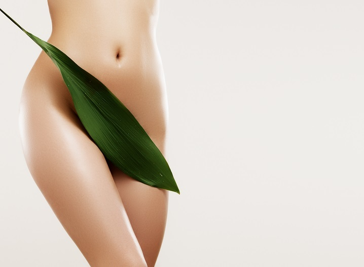 Depilacja pastą cukrową bikini brazylijskie